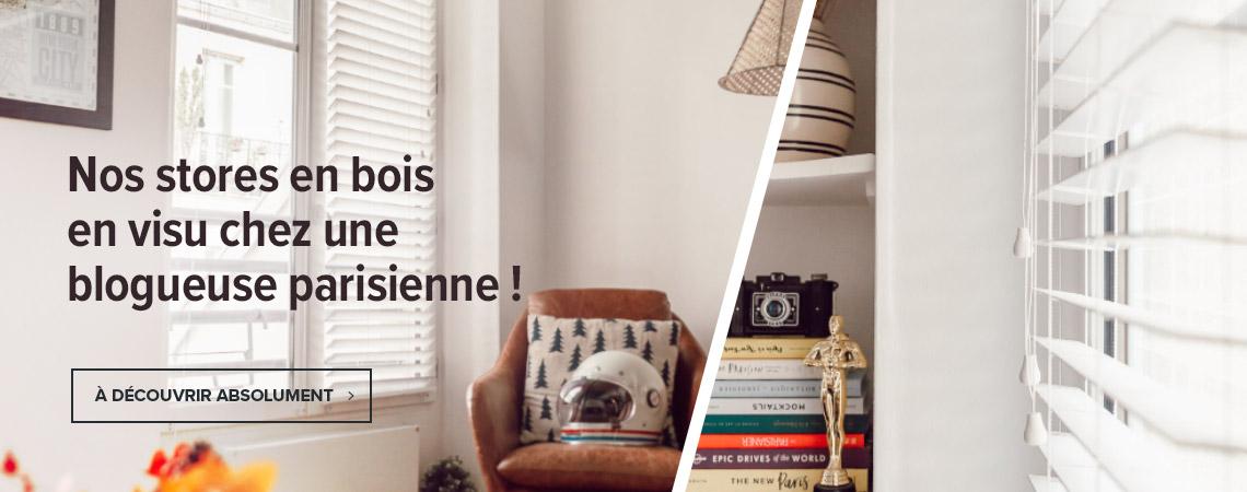 Bienvenue chez une blogueuse parisienne