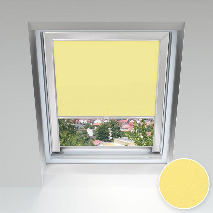 Store pour les fenêtres de toit, Sur mesure, Banane