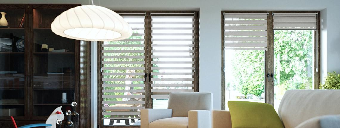 store enrouleur jour nuit sans per age pr t poser stores enrouleurs jour nuit stores. Black Bedroom Furniture Sets. Home Design Ideas