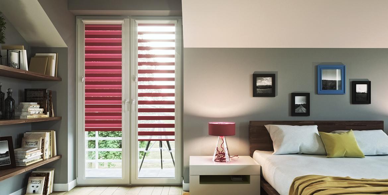 store enrouleur jour nuit avec coffre tamisant domondo. Black Bedroom Furniture Sets. Home Design Ideas