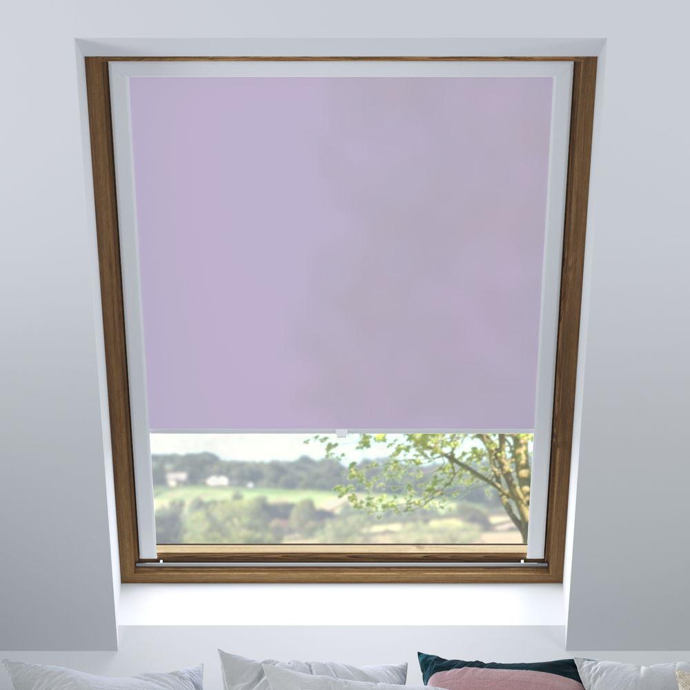 Store pour les fenêtres de toit, Sur mesure, Tamisant, Bruyère