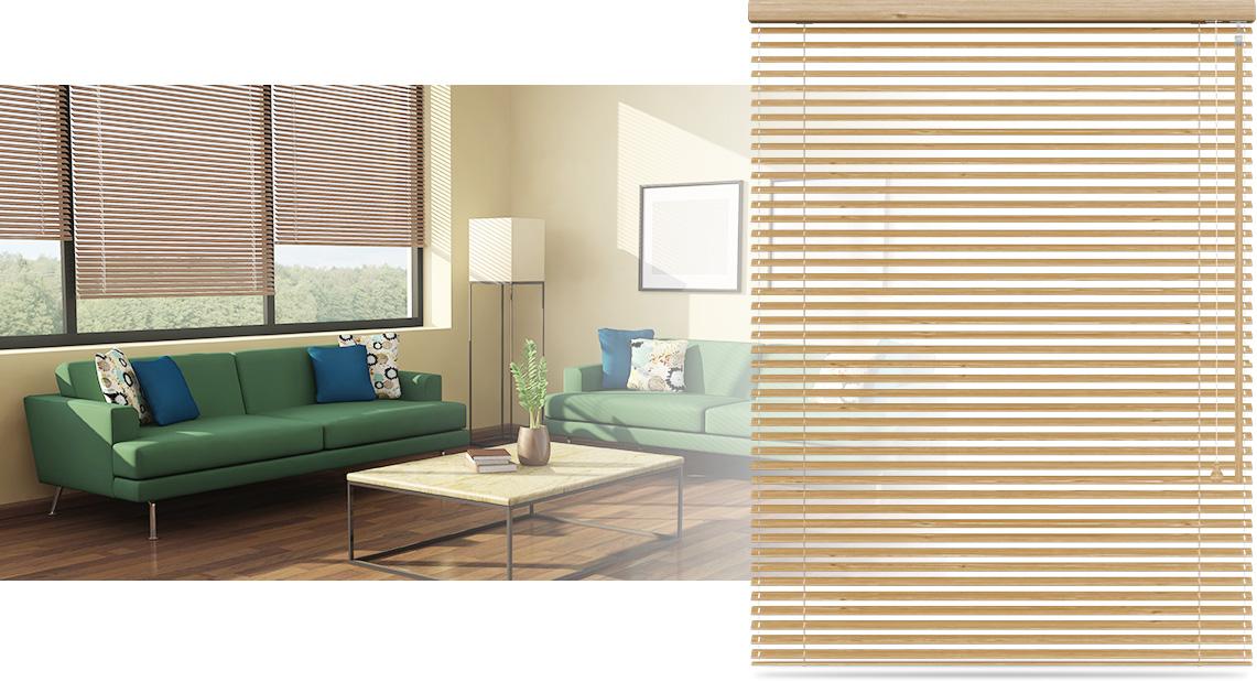 store v nitien bambou lames 25 mm domondo. Black Bedroom Furniture Sets. Home Design Ideas